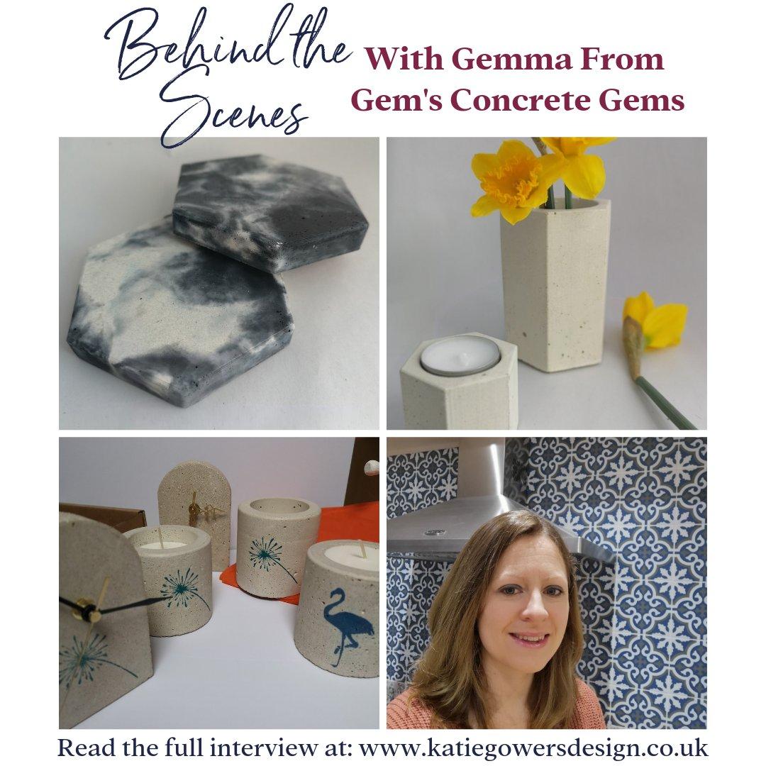 , Blog interview, Concrete Gems, Concrete Gems